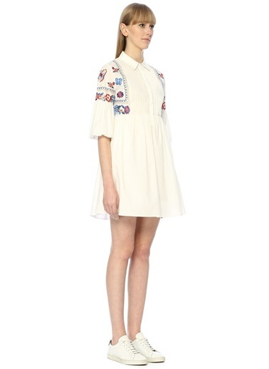 Jovonna Elbise Beyaz